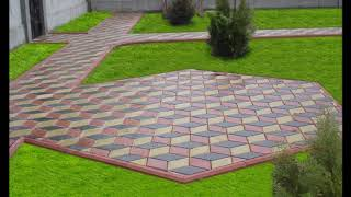 видео Вибролитая тротуарная плитка