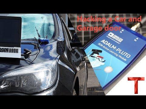 [EN subs] Hacken eines Autos und Garagentors - AdalmPluto Replay Attacke