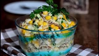 Новогодний рецепт салата на 2018 год рецепты с фото