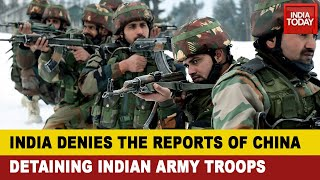 India China FaceOff: Chİna Briefly Detains Indian Troops, ITBP Men; Soldiers Released Shortly