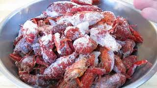 Frozen Crawfish Boil - How to cook Frozen Crawfish - PoorMansGourmet