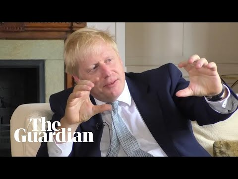 Boris Johnson says he makes models of buses to relax