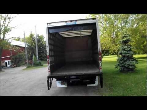 2002 Isuzu NPR Diesel 16 Foot Van Body Box Truck Same as GMC W5500 BLACK