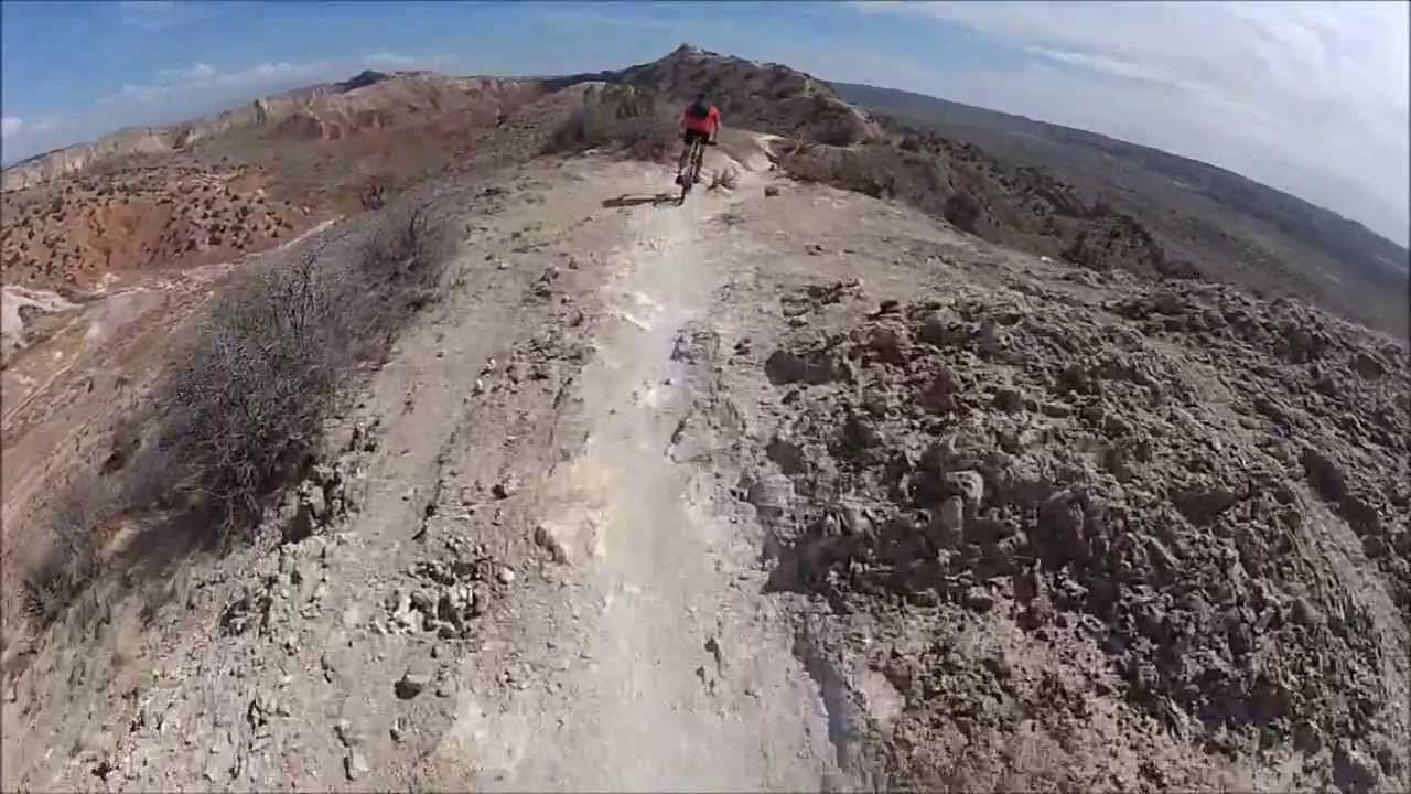 finding bliss on the edge of the abyss mtb at white mesa new mexico