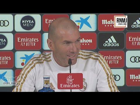 Rueda de prensa de ZIDANE previa Osasuna - Real Madrid (08/02/2020)