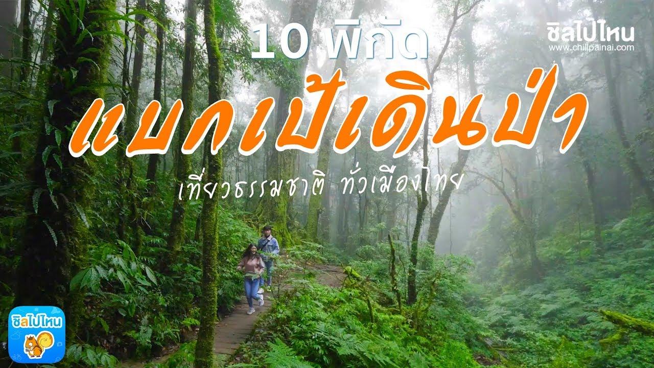 10 พิกัดแบกเป้ เดินป่า เที่ยวธรรมชาติ ทั่วเมืองไทย