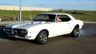1968 Pontiac Firebird Burnout 1