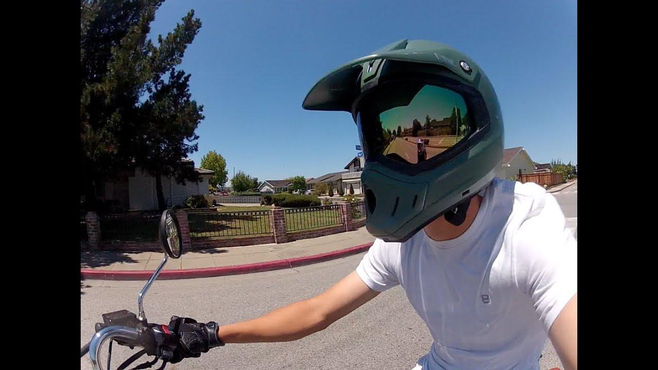 Custom Master Chief Halo Motorcycle Dirtbike Helmet Youtube