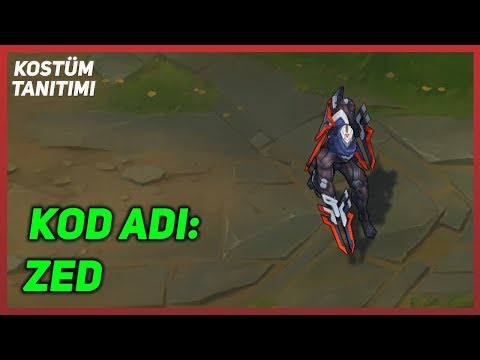 KOD ADI: Zed (Kostüm Tanıtımı) League of Legends