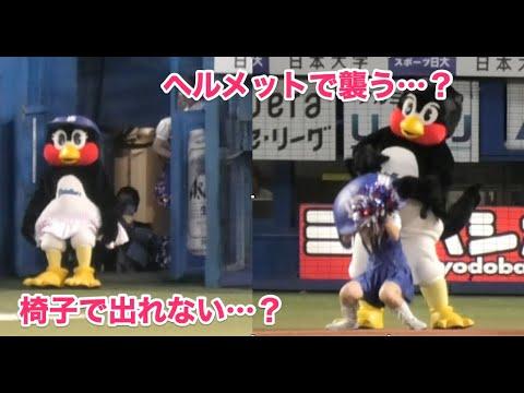 つば九郎&つばみ、徹底的にPassionに襲いかかる(笑)