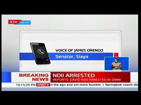 Senator James Orengo confirms NASA's chief strategist David Ndii's arrest