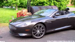 2011 Aston Martin Virage Volante!