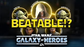 Revan Is Amazing BUT Can Be Beaten - Star Wars: Galaxy Of Heroes - SWGOH