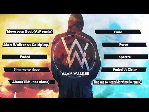 🆕2⃣0⃣1⃣7⃣ Top 10 songs of Alan Walker 2017💖Best of Alan Walker💖Greatest Hits ✔✔