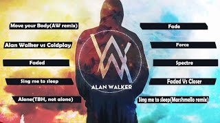 🆕2⃣0⃣1⃣7⃣ Top 10 songs of Alan Walker 2017💖Best of Alan Walker💖Greatest Hits ✔✔