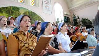 Хор в Церкви Колибаш