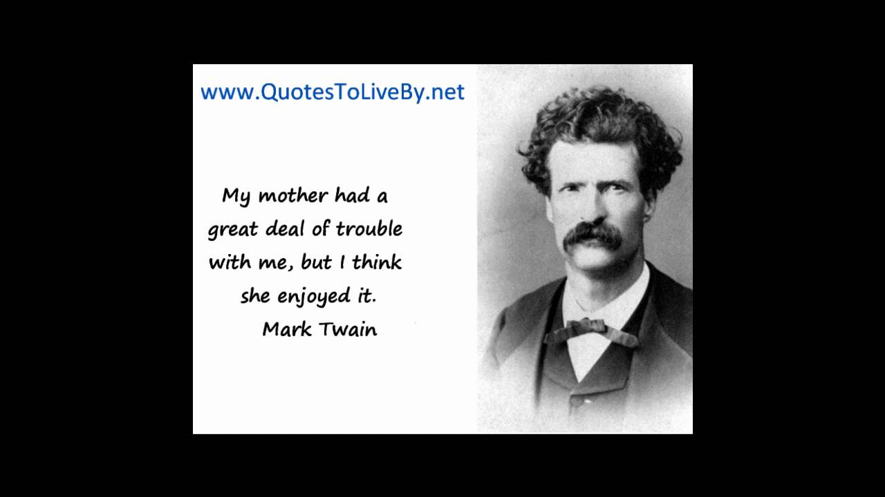 Mark Twain Quotes Mark Twain Quotes  Lessons  Tes Teach