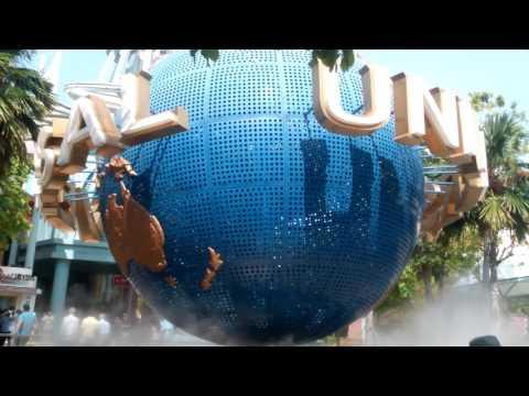 Universal Studios Globe in Sentosa Island,Singapore