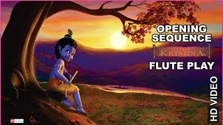 Little Krishna | Opening Sequence | Flute