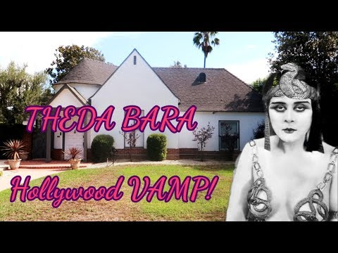 #755 THEDA BARA's House : Hollywood Sexiest VAMP! - Jordan The Lion Daily Vlog (8/31/18)