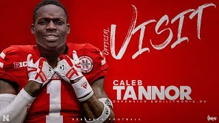 Caleb Tannor 4 Star DE Nebraska Commit!? ULTIMATE Highlights!!