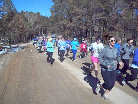 Start of the Winter Series IV Short-Course (10K) race