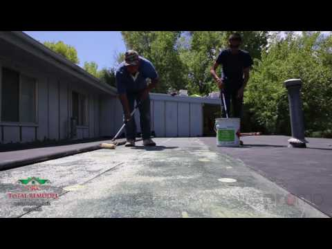 Total Remodel Contractor, Flat Roof