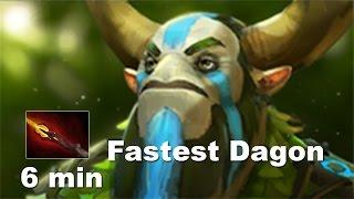 6 min Fastest Dagon in Pro Dota 2. USH! Furion