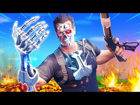 The *TERMINATOR* Challenge in Fortnite! - TG Plays