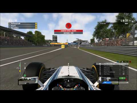 F1 2016 - AOR S12 Round 14 - Italy Highlights (Non-Commentated)