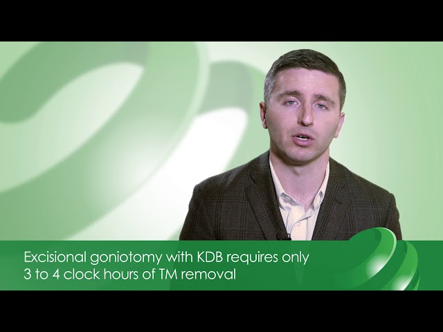 Michael Patterson, DO: Kahook Dual Blade® (KDB) Excisional vs. Incisional Gonitomy Procedure