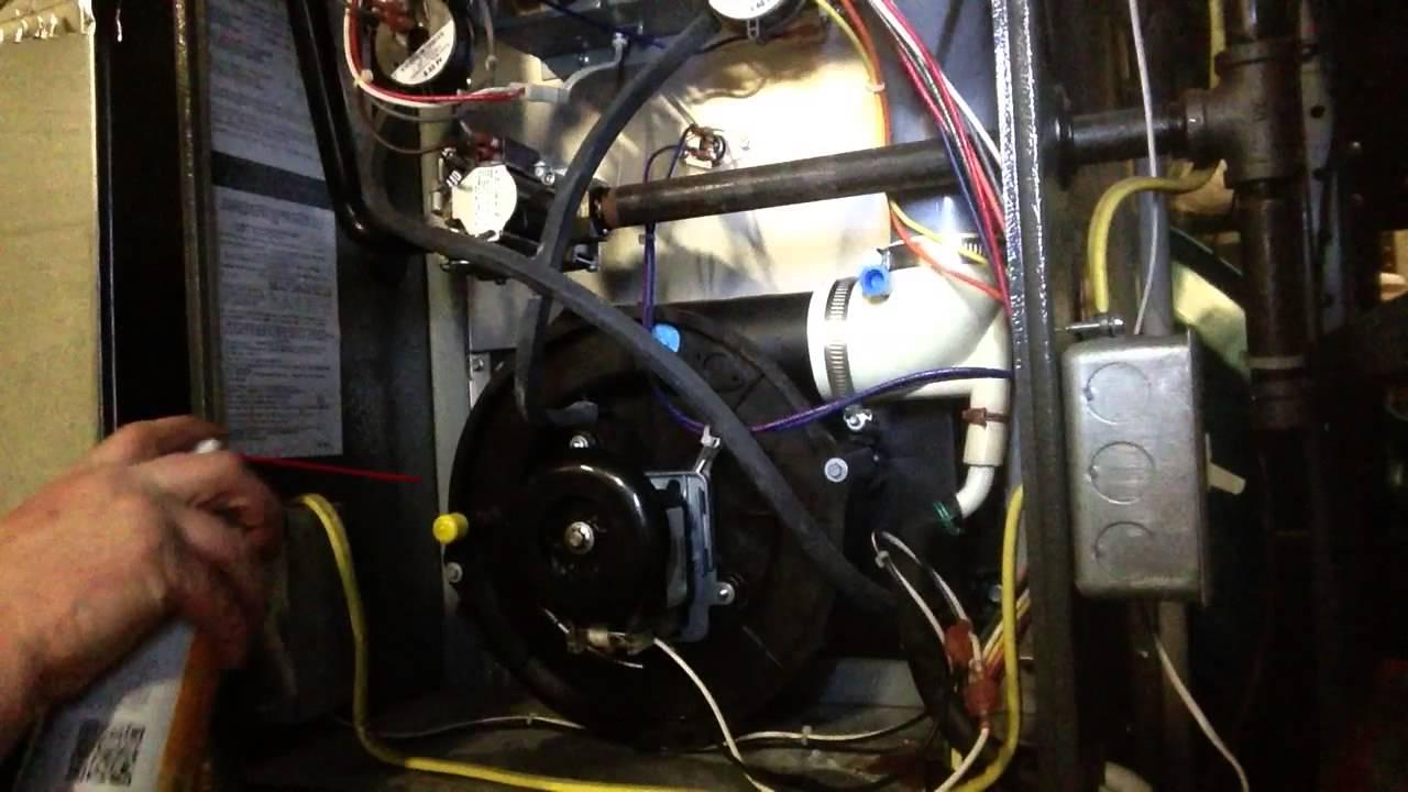 Diy how to loosen stuck furnace draft inducer goodman youtube sciox Gallery