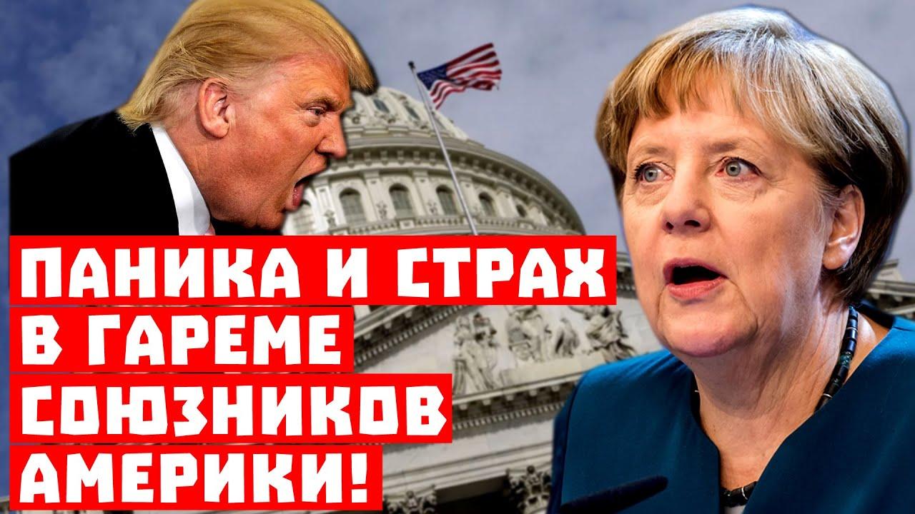 """Трамп будет делать """"бо-бо""""! Паника и страх в гареме союзников Америки!"""