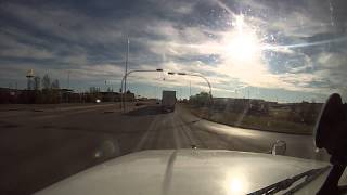 Trucking Thru Regina, Saskatchewan, Canada   Sept 2013