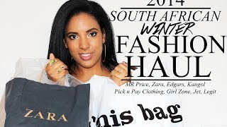 HUGE FASHION HAUL | South Africa | Winter 2014 | South African Beauty Blogger