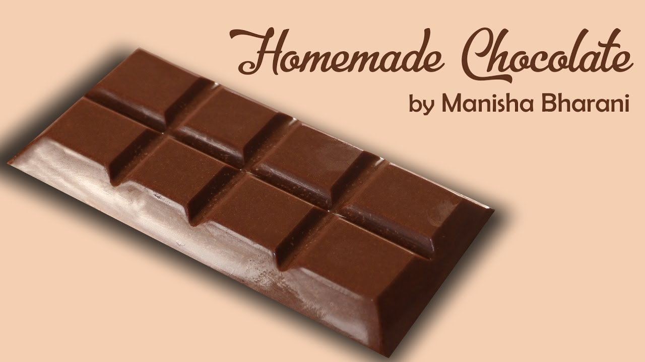 How To Make Chocolate At Home – Easy Homemade Milk Chocolate Recipe –  Chocolate Tutorial