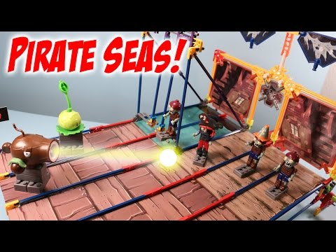 Plants Vs. Zombies K'nex Pirate Seas Plank Walk Building Set Review