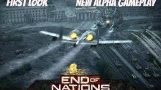 New End of Nations Early Alpha Gameplay