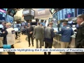 O'Shares ETF Investments Rings the NYSE Opening Bell