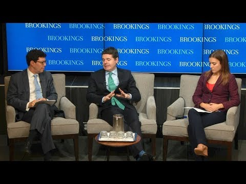 The challenge of Brexit: A conversation with Irish Finance Minister Paschal Donohoe