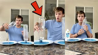 Easy Candle & Bottle MAGIC! 😱 - #Shorts
