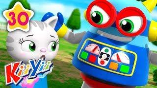 Ding Dong Bell | Plus More Nursery Rhymes | by KiiYii | Nursery Rhymes & Kids Songs | ABCs and 123s