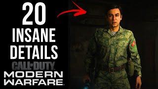 20 INSANE Details in Modern Warfare