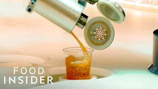 Robot Bartenders Mix Drinks At This Cruise-Ship Bar