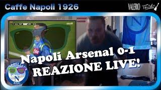 Napoli Arsenal 0-1 Live Reaction!