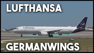 Lufthansa and Germanwings Departures