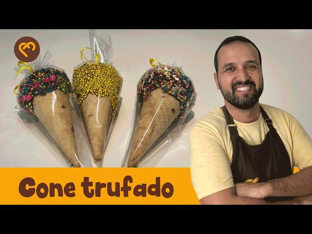 Cone Trufado   Cacau Foods
