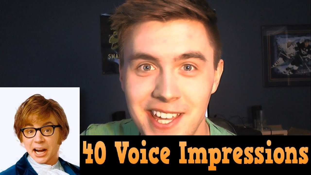 Morgan Freeman and 40 other impressions - YouTube
