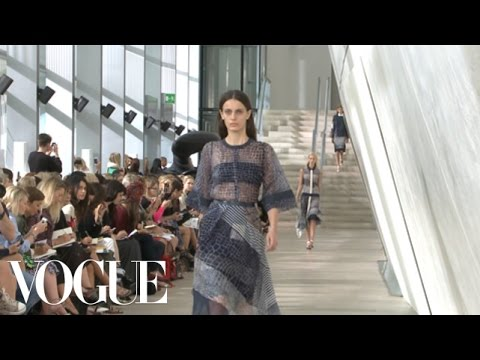 Preen Ready to Wear Spring 2013 Vogue Fashion Week Runway Show