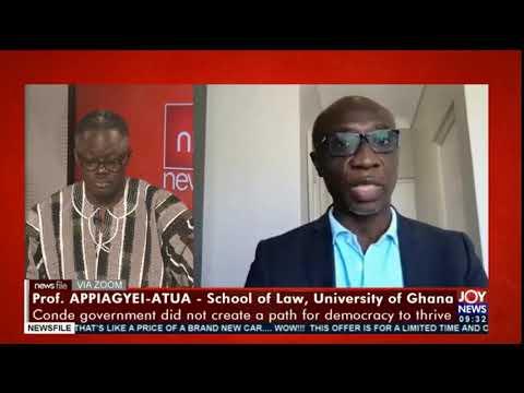 Guinea coup: ECOWAS came in late - Prof. Appiagyei Atua asserts #Newsfile